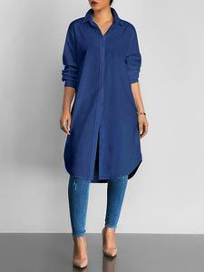 Everyday Plain Shirt/Dress (292689412107)