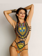 Load image into Gallery viewer, Print One Piece Swimsuit (1523731431469)