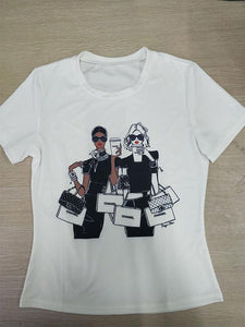 Shopping Girls Tee