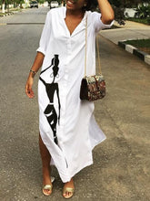 Load image into Gallery viewer, African Beauty Shirt Dress