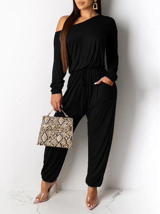 Everyday Drawstring Jumpsuit