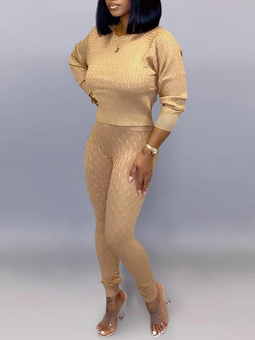 Solid Knit Co-ord