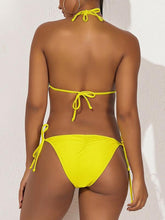 Load image into Gallery viewer, Frilled Tied Bikini
