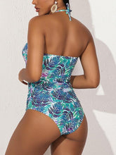 Load image into Gallery viewer, Halter Cutout One-Piece Swimsuit