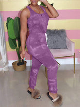 Load image into Gallery viewer, Tied-Front Sleeveless Jumpsuit