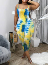 Load image into Gallery viewer, Printed Cami Dress