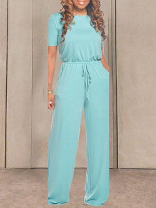 Everyday Short Sleeve Jumpsuit