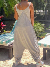 Load image into Gallery viewer, Gray Slouchy Cami Jumpsuit