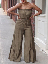 Load image into Gallery viewer, Bandeau Wide-Leg Jumpsuit