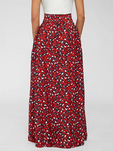 Load image into Gallery viewer, High-Waist Leopard Skirt