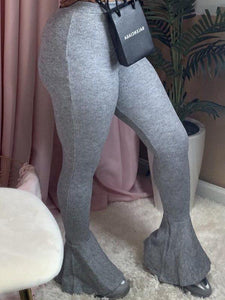 Flared Cuff Leggings