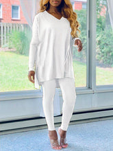 Load image into Gallery viewer, V-neck Tunic & Pants Set