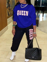 Load image into Gallery viewer, QUEEN Sweatshirt & Pants Set