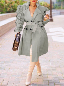 Frilled Trench