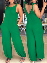 Load image into Gallery viewer, Solid Cami Jumpsuit