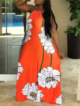 Load image into Gallery viewer, Paradise Halter Maxi Dress