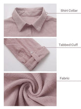 Load image into Gallery viewer, Everyday Tabbed Sleeve Shirt Dress