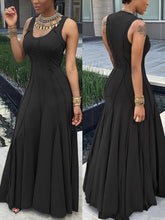 Load image into Gallery viewer, Dresses - Sleeveless Close-Fitting Dress