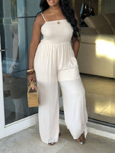 Load image into Gallery viewer, Cami Bow Legs Jumpsuit