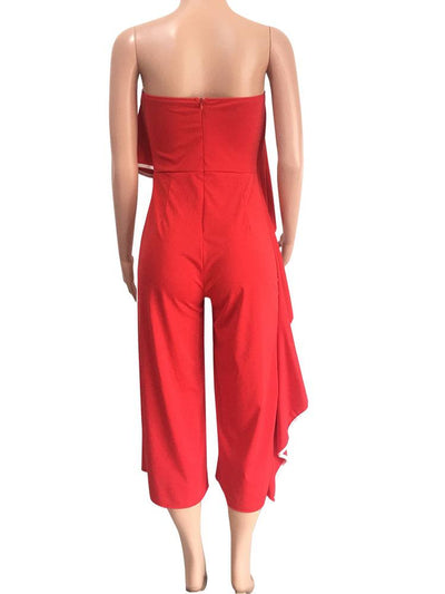 Jumpsuits - Layer Off Shoulder Jumpsuit