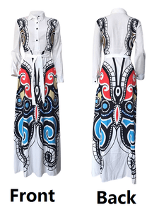 Butterfly Print Dress - clearance