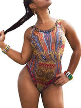 Load image into Gallery viewer, Swimwear - Digital Printed Tight One Piece Swimsuit