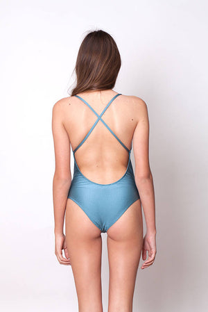 CROSS BACK - METALLIC BLUE