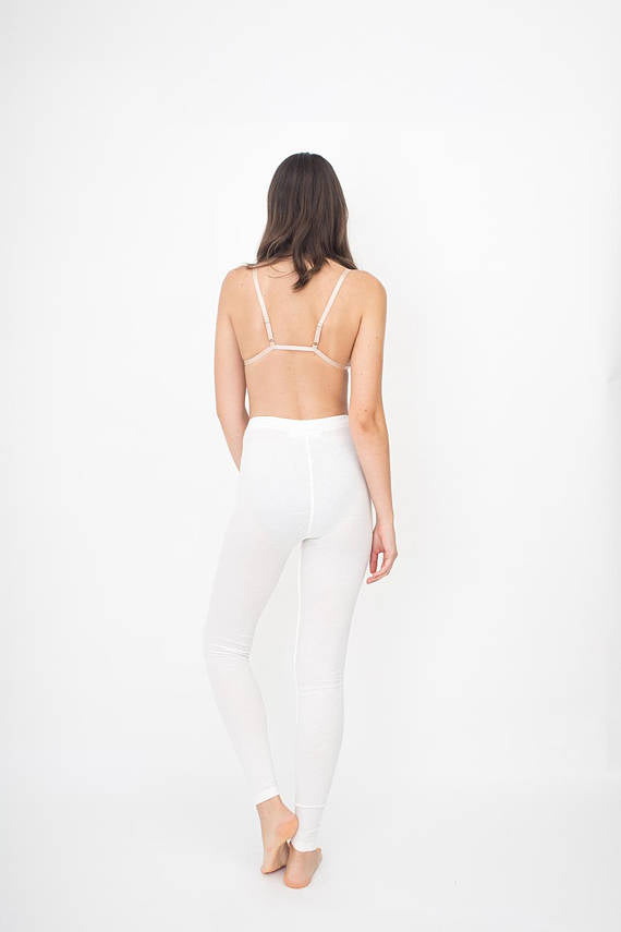 WOMEN LEGGINGS - WHITE
