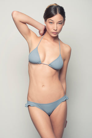 TRIANGLE BIKINI SET - GREY