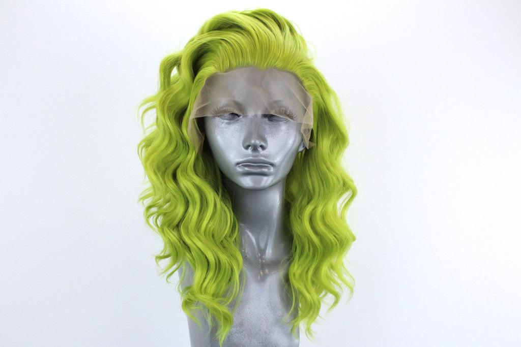 Amber- Electric Lime