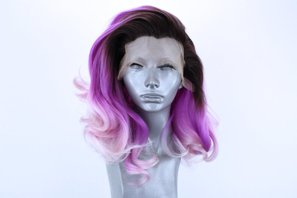 Marilyn- Rooted Pastel Violet