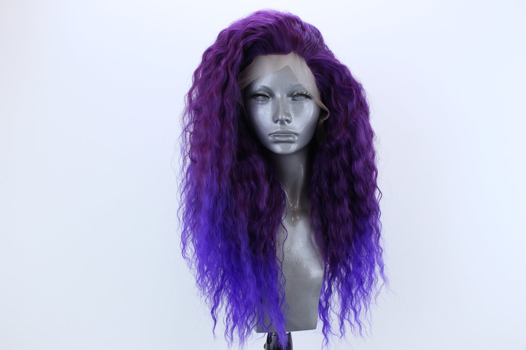Evie- Violet Tipped Purple