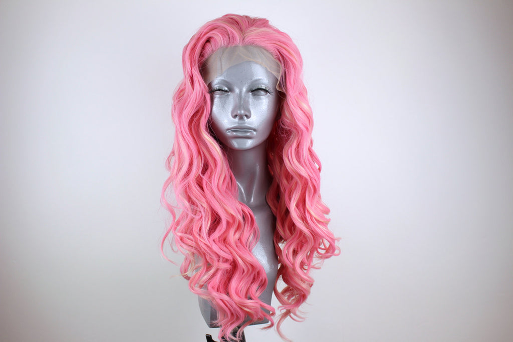 Daisy- Blonde Highlighted Pink