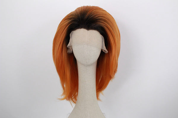 Pre-styled Rooted Pumpkin Spice Wig