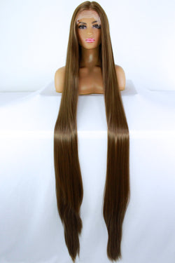 "65"" Light Brown Lacefront Wig"