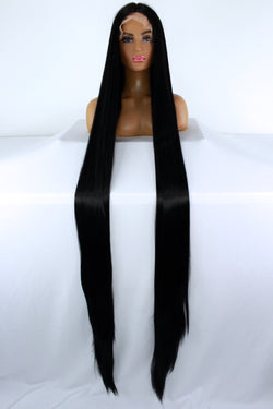 "65"" 1B Lacefront Wig"