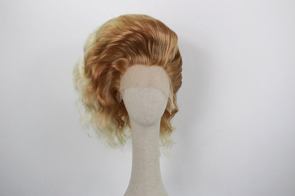 Pre-styled Honey Blonde Ombré Wig