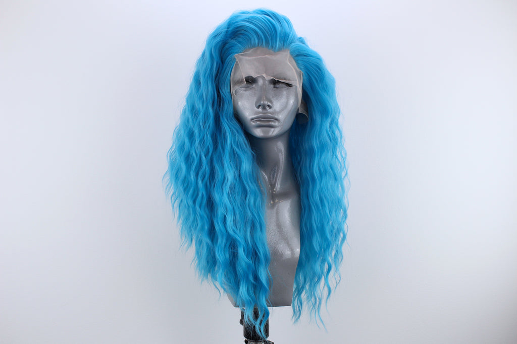 Evie Electric Blue Webster Wigs