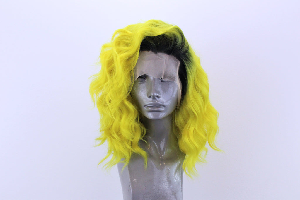 Elle- Black Rooted Yellow
