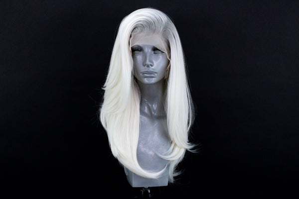 Lily- Silver Rooted Ice Blonde