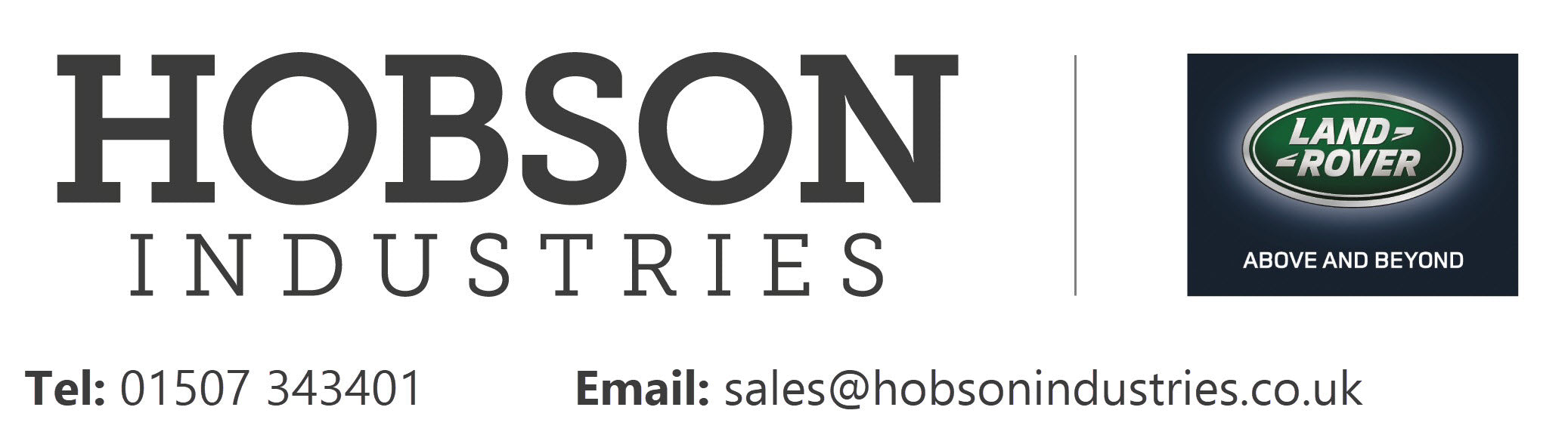 Hobson Industries Land Rover Specialists
