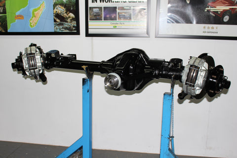 HIL0060 reconditioned Land Rover defender early HD front salisbury axle
