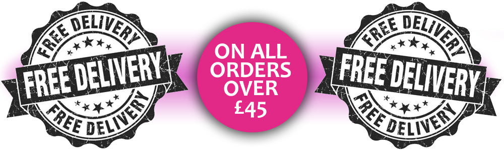 Free delivery over £45