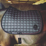 Kingsland Demi Saddlepad grey showjumping