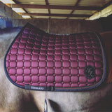 Kingsland Demi saddlepad red