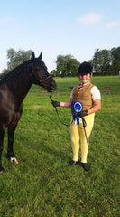 Emily and Marius Reserve Champion at Ryedale Show