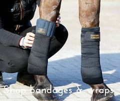 Shop horse bandages and wraps from Equissimo Kentucky Horsewear and Kingsland Equestrian