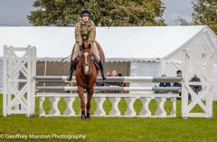 Captain Emily Cooper UK Armed Forces Equestrian Team