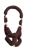 Kentucky horsewear sheepskin travel halter. Free UK delivery