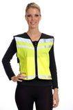 Equisafety Air Waistcoat Yellow